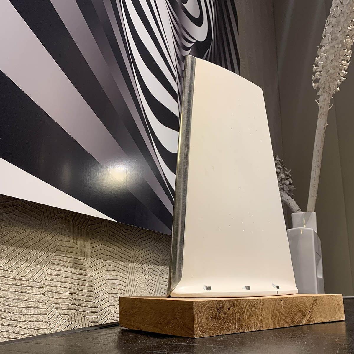 Atlantic Antenna on a cabinet.