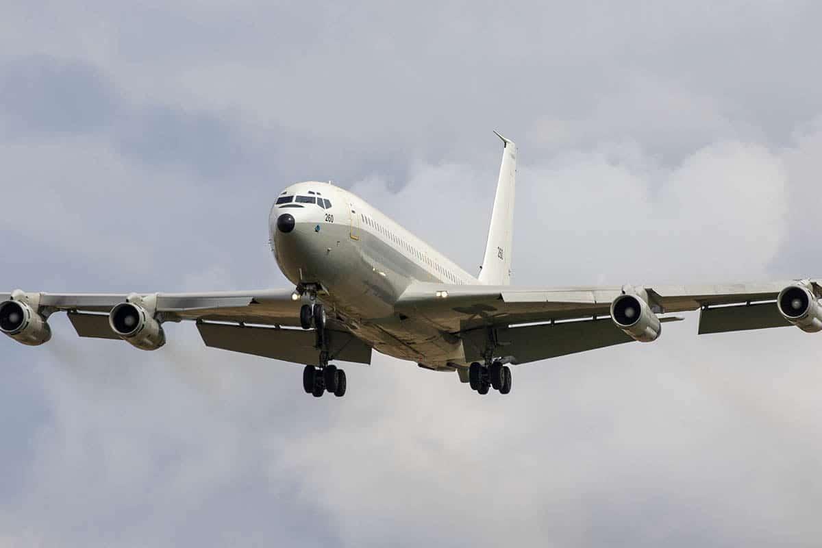 Boeing 707 F-BHSL.