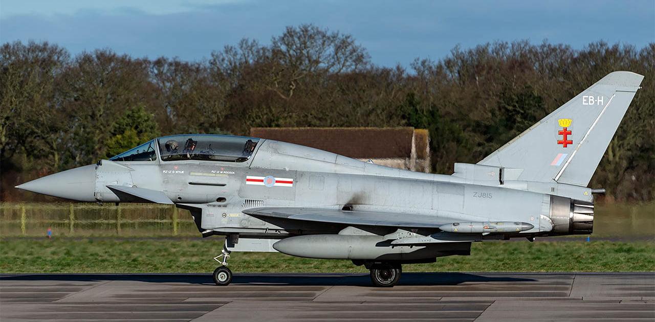 Eurofighter Typhoon ZJ815