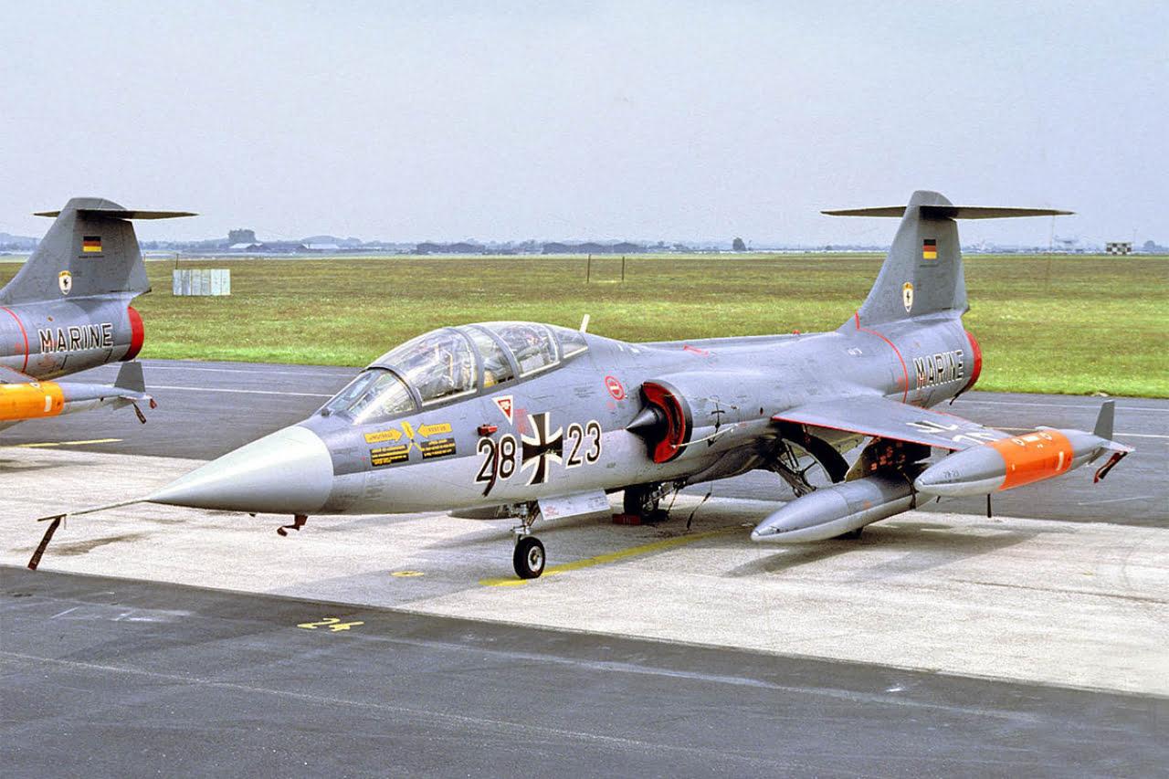 German Navy TF-104G Starfighter.