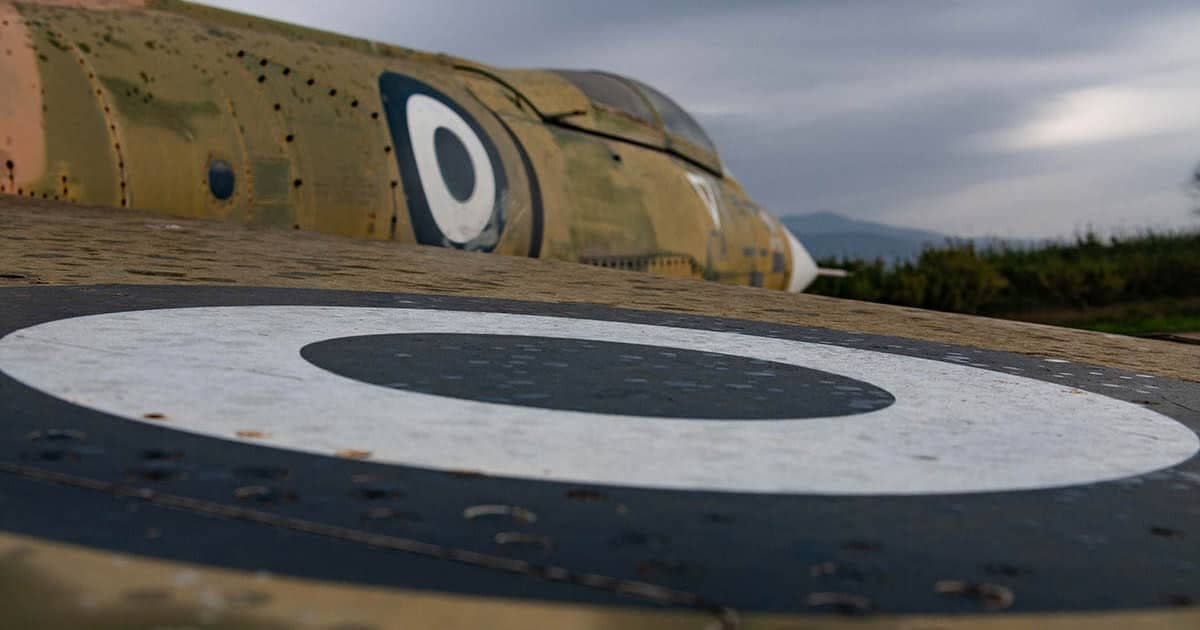 Close-up of a Hellenic F-104 Starfighter photo