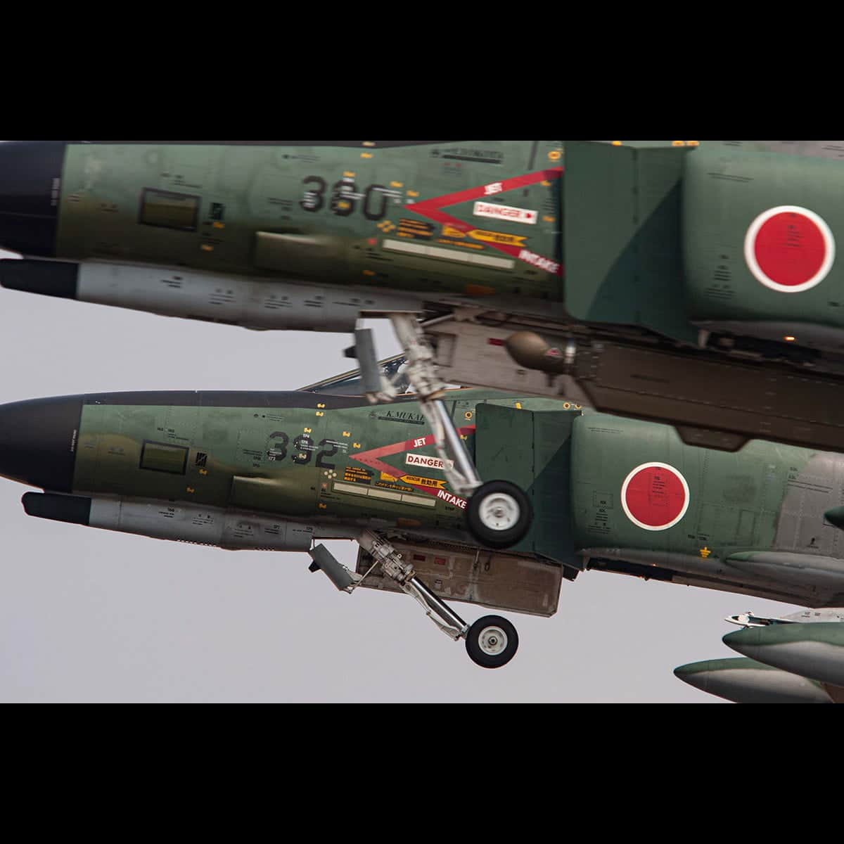 Two RF-4Es taking off