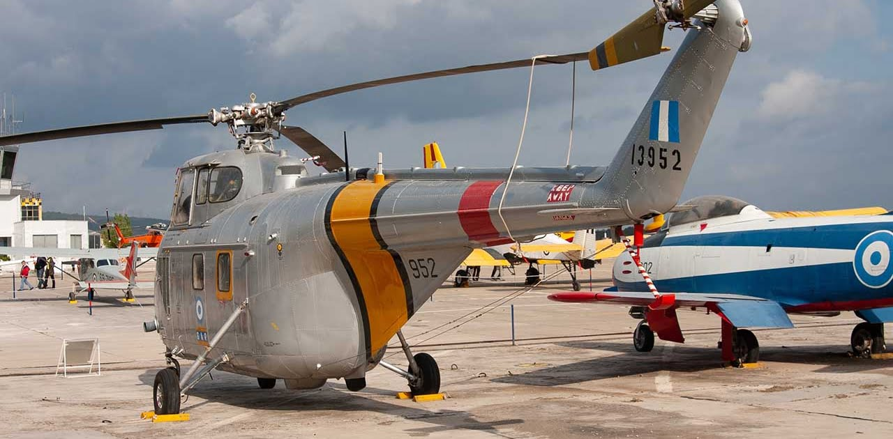 Westland S-55 helicopter.