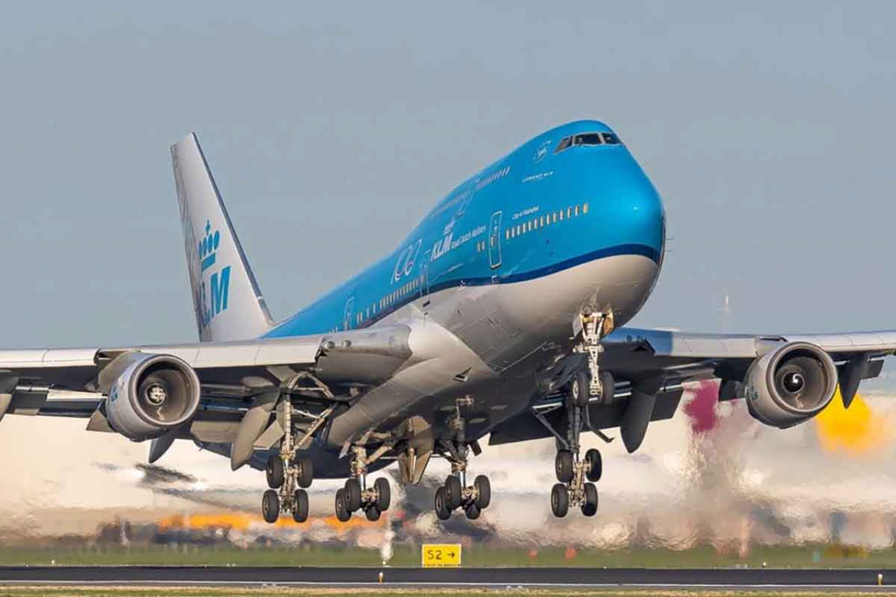 Boeing 747 of Royal Dutch Airline KLM