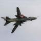Sukhoi Su-17 Fitter small main landing gear door position.